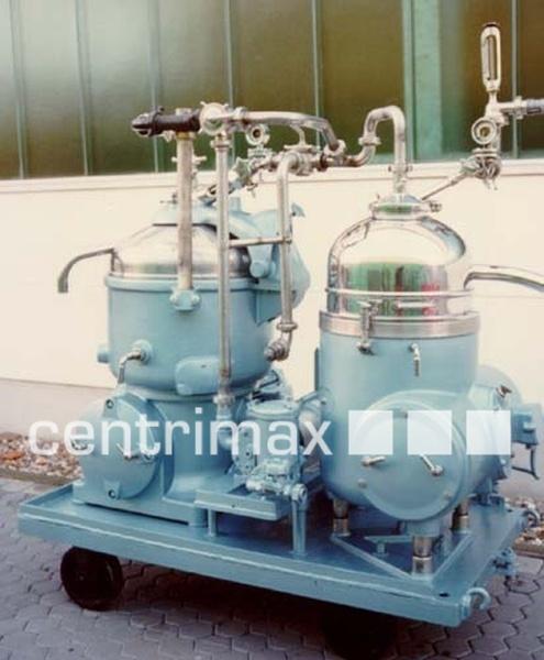 GEA Westfalia Separator Solid wall disc centrifuge - MN 5004