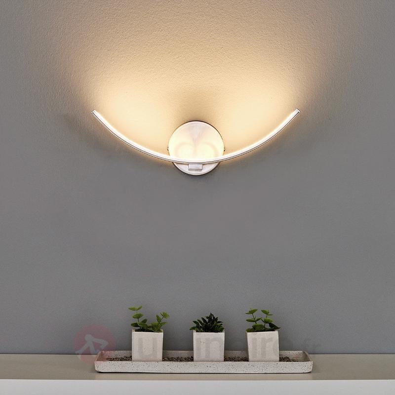 Applique à LED recourbée Iven - Appliques LED