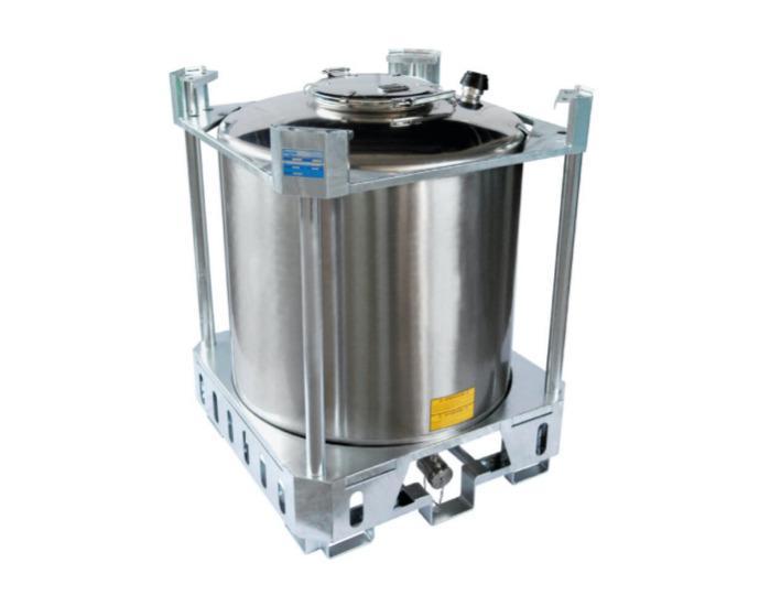 IBC - acciaio inossidabile 304 o 316 - Contenitori da 5 a 16 HL