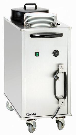Tellerwärmer für ca. 30-40 Teller, CNS - null