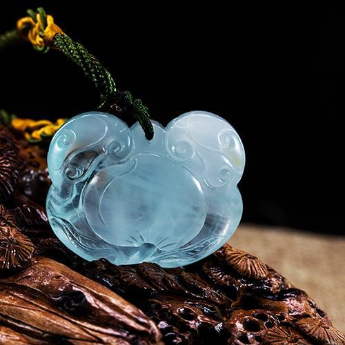 Natural aquamarine piezas talladas en forma de bloqueo -
