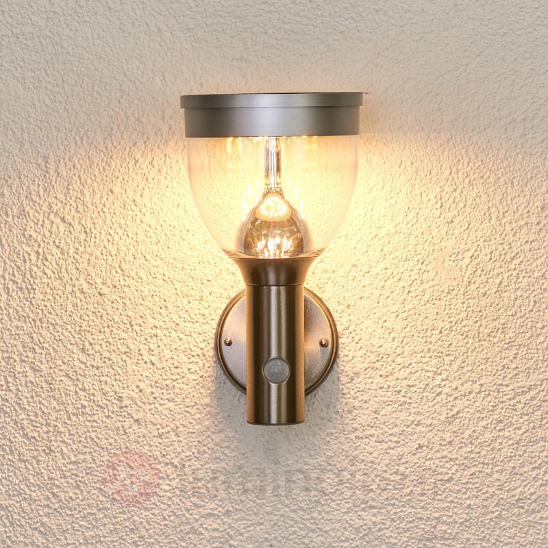 Applique extérieure LED solaire Eda - Appliques solaires
