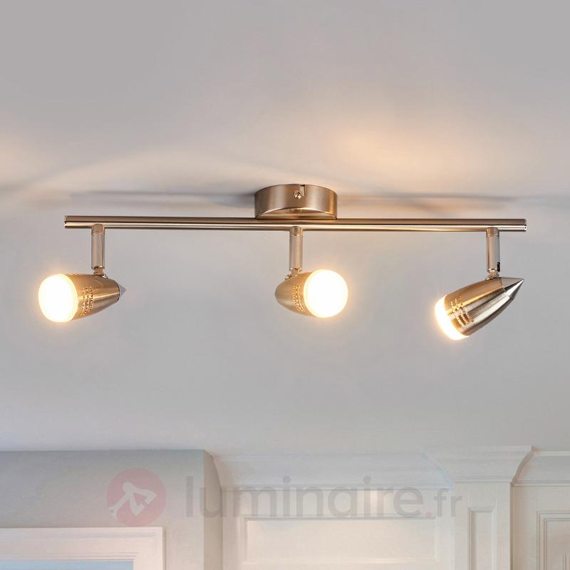 Spot de plafond LED Andy à 3 lampes - Spots et projecteurs LED