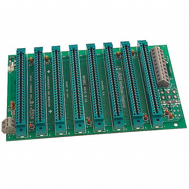 BACKPLANE STD BUS 8 SLOT 4.35X7 - Vector Electronics 4610-8-1A