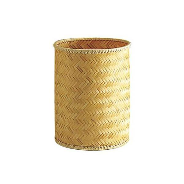 Poubelle de bureau bambou - null