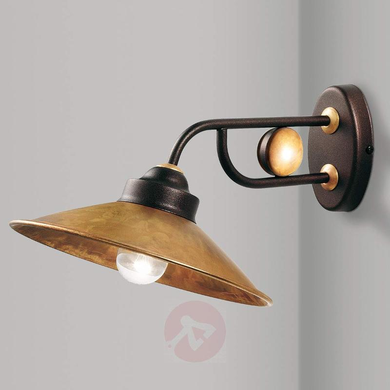 Brass wall lamp Rua - Wall Lights