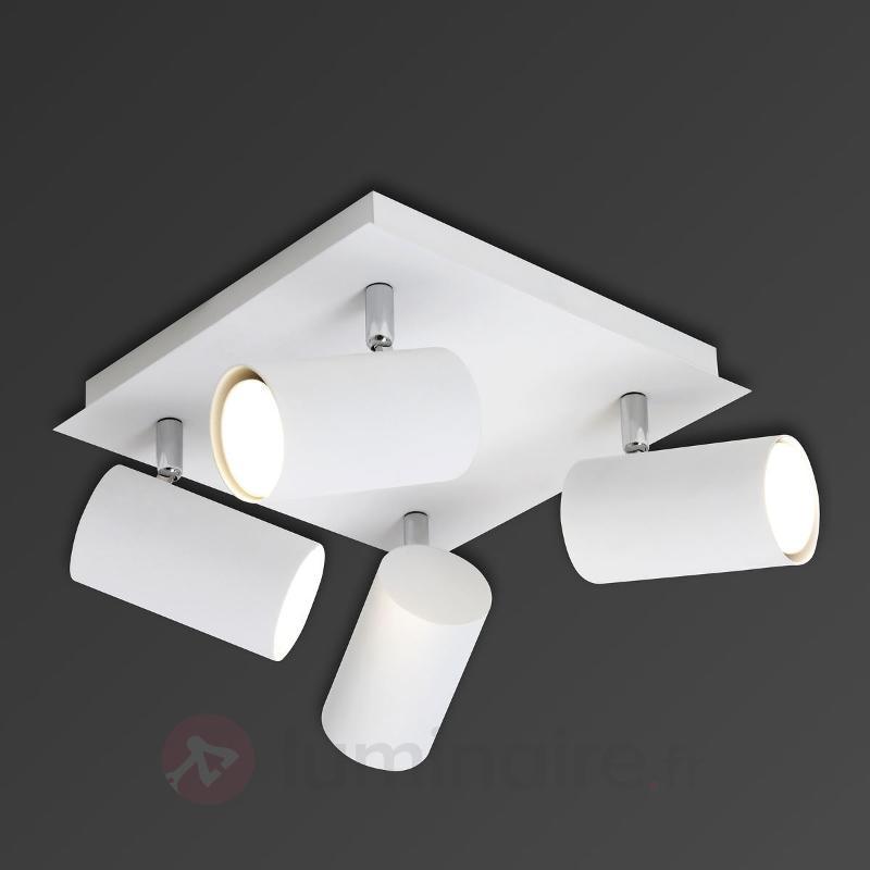 Spot halogène Mia à quatre lampes - Spots et projecteurs halogènes