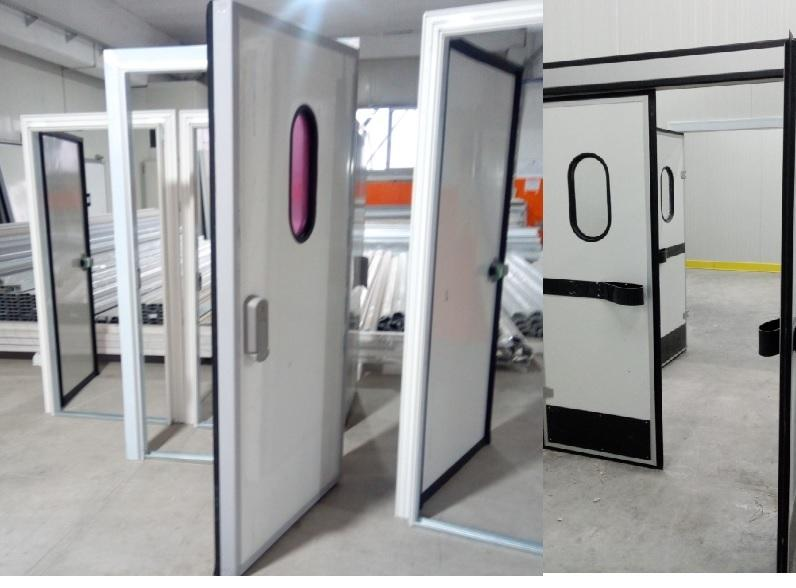 COLD ROOM DOORS - can be manufactured in different sizes and types