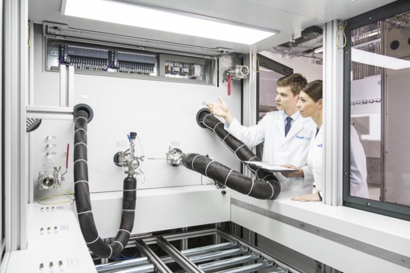 Prüfstand für PEM-Brenstoffzellenstacks  bis 150 kW - Prüfstand für das Testen von PEM-Komponenten bis 150 kW