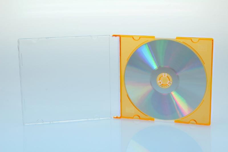 CD Slimcase - 5.2mm - gelb - bulkware - Slimcases & Maxiboxen