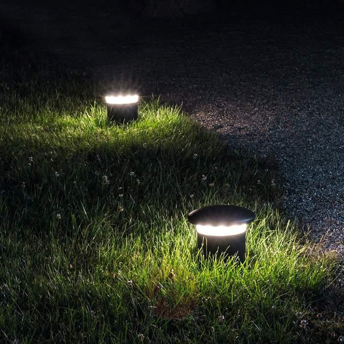 Hercules pillar light with LED IP54 - Pillar Lights