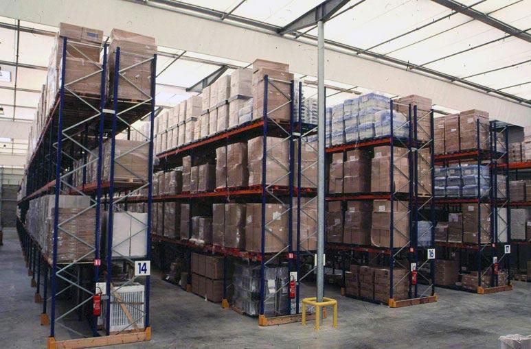 Entrepôt logistique - Systèmes de construction démontable - Constructions industrielles