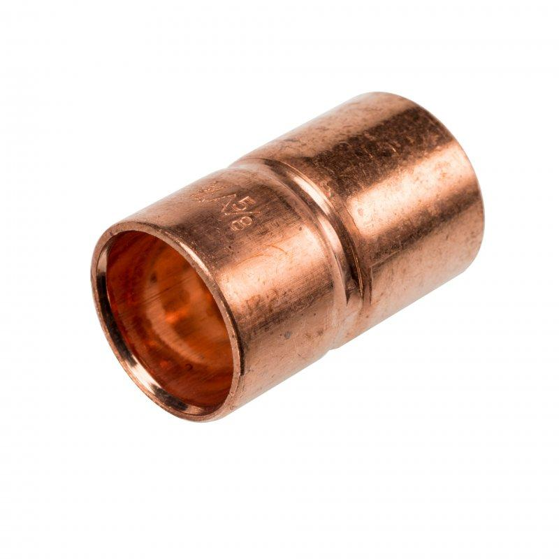 RefHP Coupling - High pressure solder fittings, copper-iron, coupling