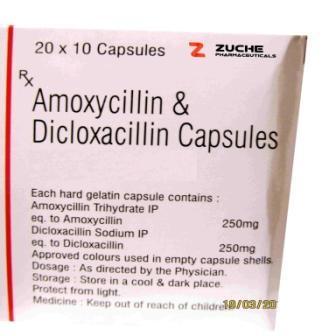 Amoxycillin and Dicloxacillin Capsules - Amoxycillin and Dicloxacillin Capsules