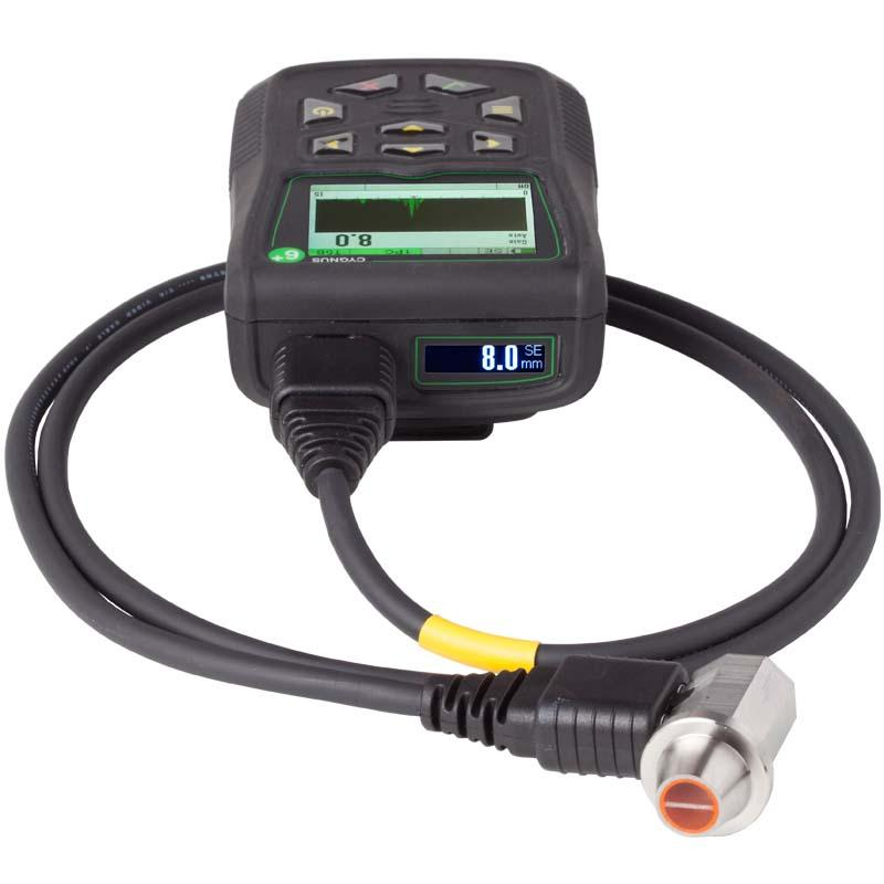 Cygnus 6+ PRO Ultrasonic Thickness Gauge - NDT Thickness Gauge with A-Scan, B-Scan & Data Logging
