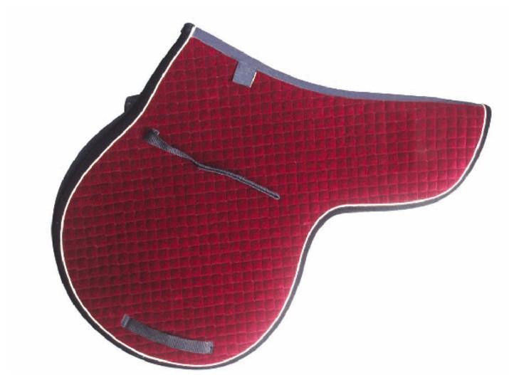 Cotton Fabric Polycotton Saddle Pad for Horse - Horse Saddle Pad