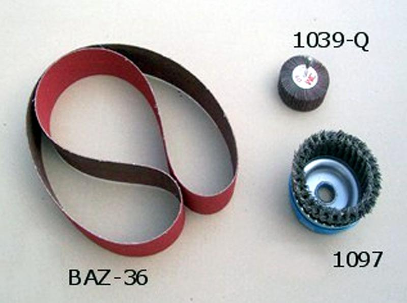 Supply Accessories - Abrasive Brushes and Belts