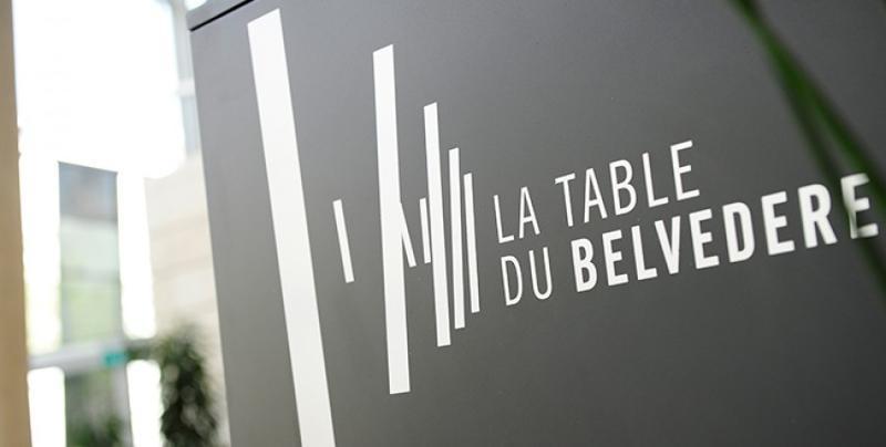La table du Belvédère - European Convention Center  - Service Evenementiel