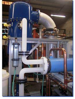 Thermal process engineering Acid Processing - Treatment of chromic acid using a titanium evaporator at SFG