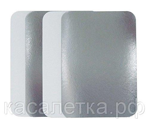 Крышки к контейнерам из алюминиевой фольги - Крышки из фольгированного картона