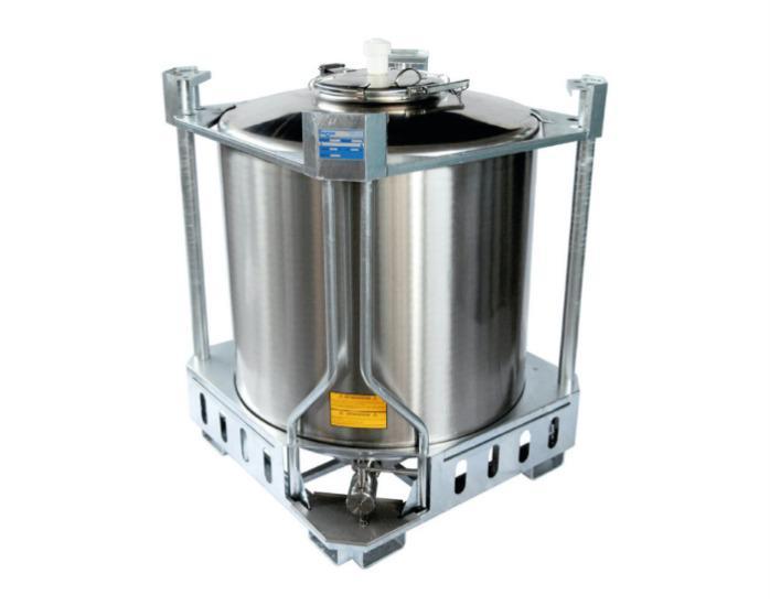 IBC - aço inoxidável 304 ou 316 - Contentores de 5 a 16 HL