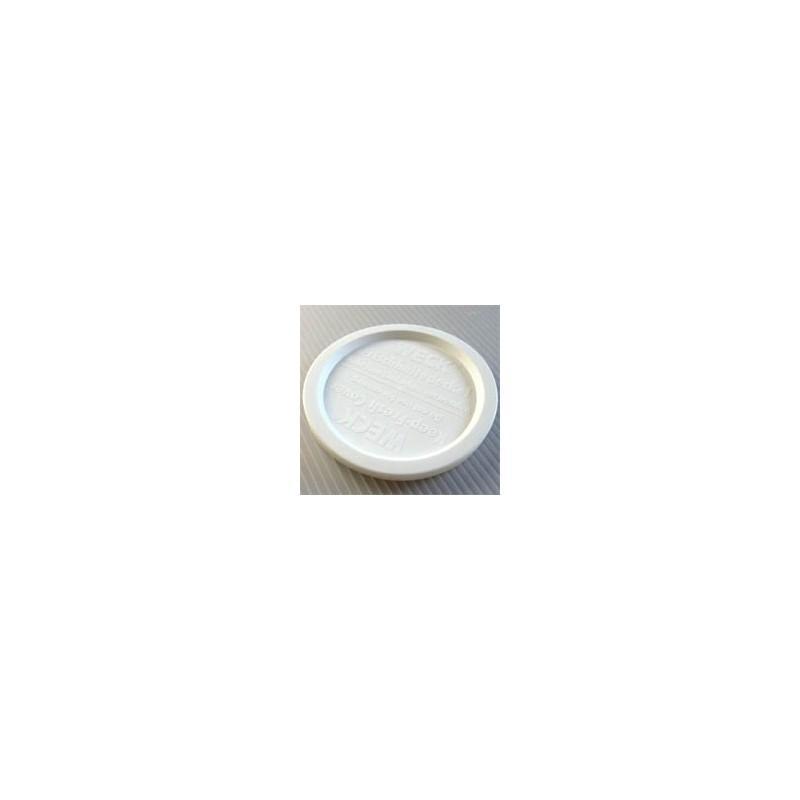 5 coperchi di conservazione di plastica  - WECK® diametro 100 mm
