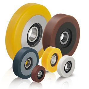 Guide rollers - null