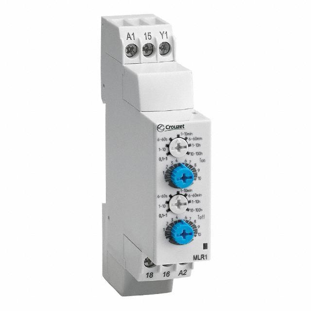 RELAY TIME ANALG 8A 24-240V DIN - Crouzet 88827155