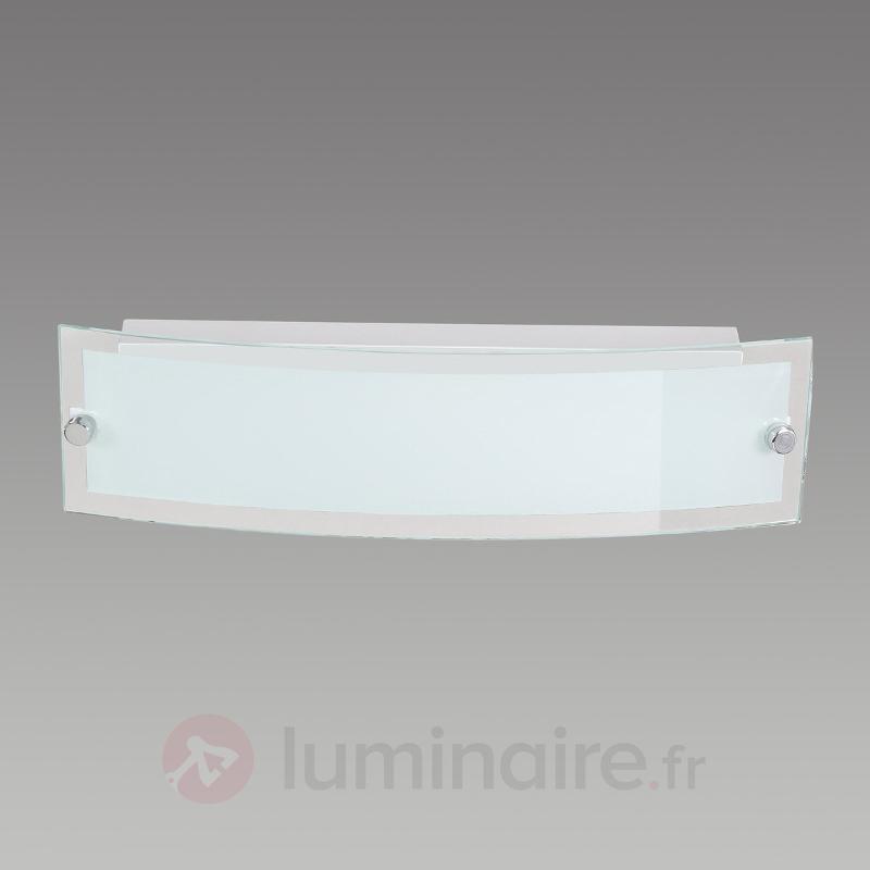 Applique LED satinée Lorenz - Appliques LED