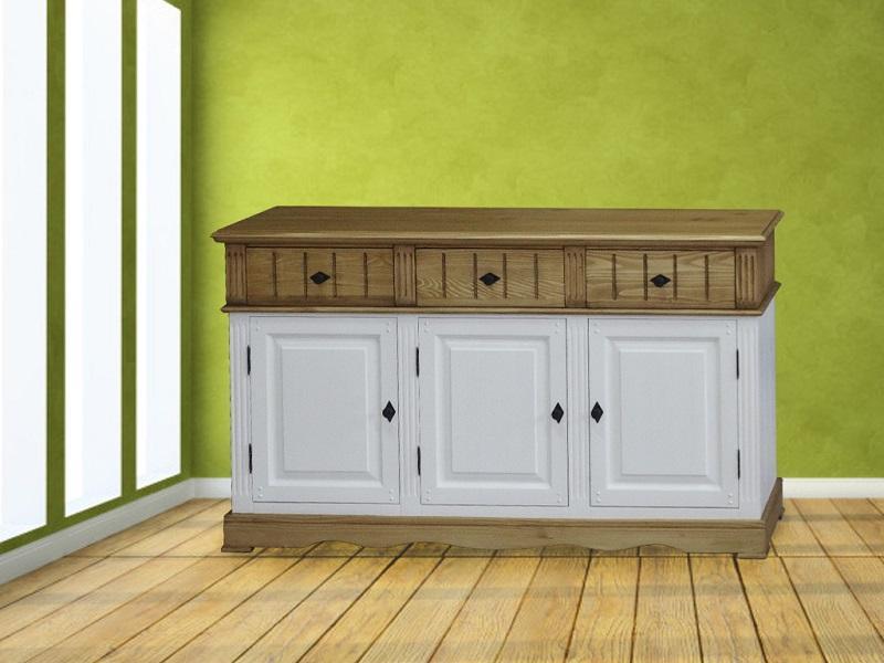 Мебель с массива елки - Комод 3дв.3ш.