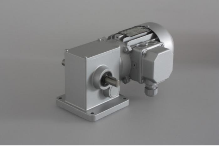 SN12X - Zweistufiger Getriebemotor mit Ausgangswelle
