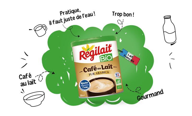 Café au lait  - Régilait BIO