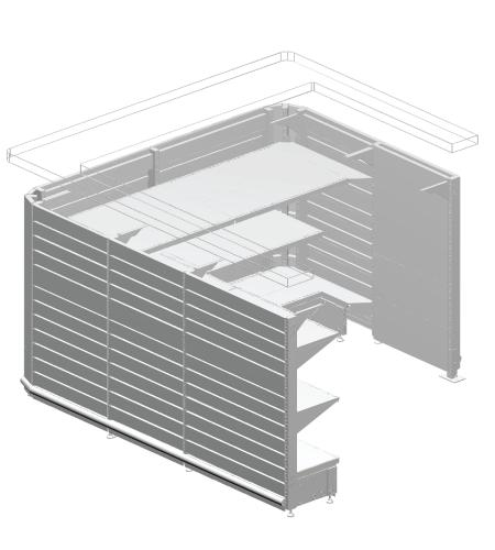 Modular shop rack systems & instore interior shelving design - Desks