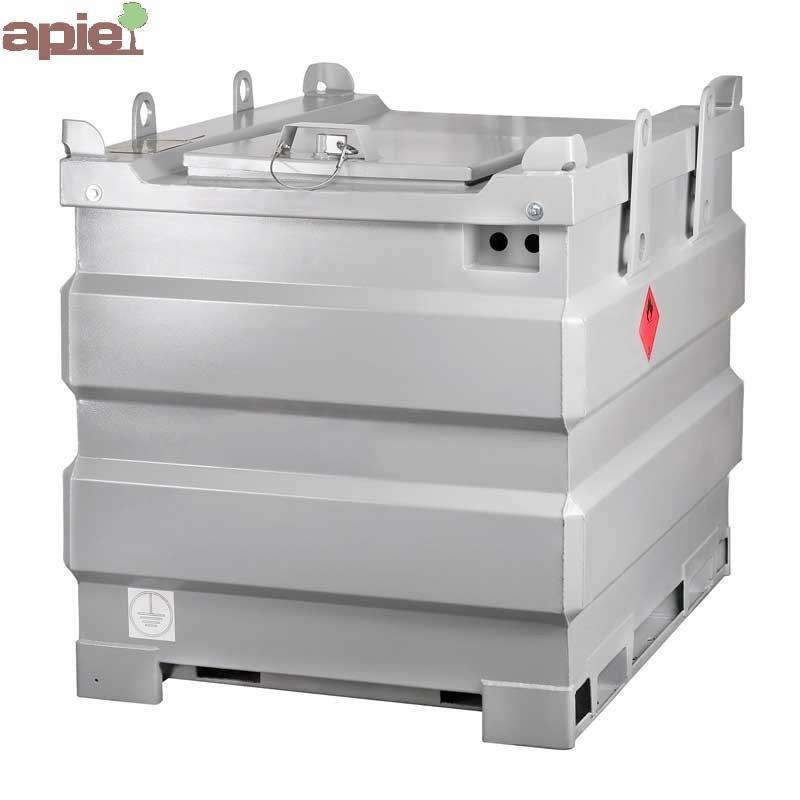 Cuve de ravitaillement gasoil 1000 L spéciale chantier - Référence : TANK-GO-1000L/SP