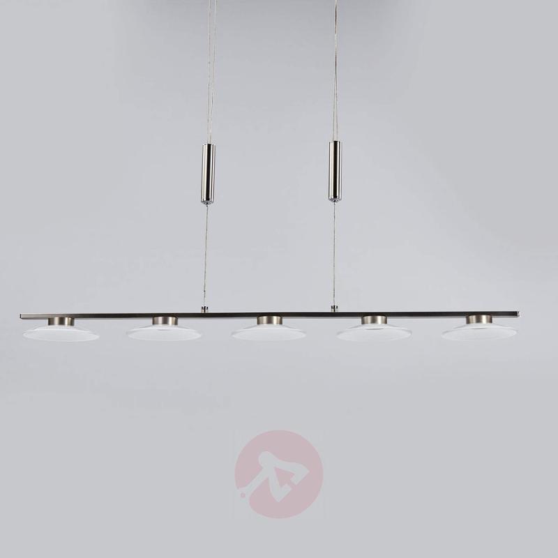5-bulb LED pendant light Leovan - indoor-lighting