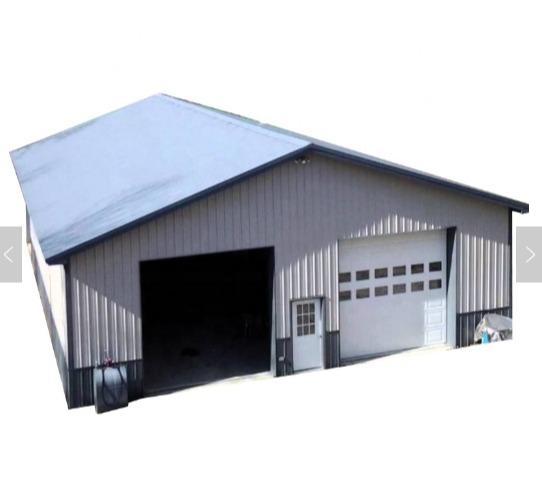 Prefab light steel shed factory warehouse - Light gauge steel frame building