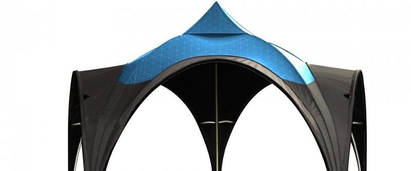 Structure aluminium en Dôme personnalisable - Abris & couvertures diverses