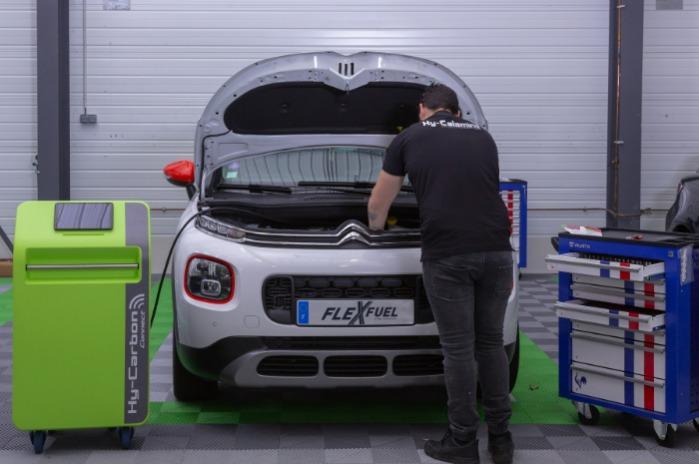 Decarbonizzazione del motore • Hy-Carbon Connect - La rigenerazione del motore tramite iniezione di idrogeno