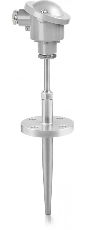 OPTITEMP TCA-TF31 - Sensor de temperatura de termopar / de brida / a prueba de abrasión