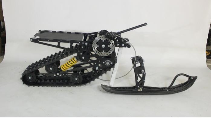 Snowbike KIT für Motorrad Pitbike - Bausatz zur Umrüstung von Motorrad-Pitbike auf Schneemotorräder