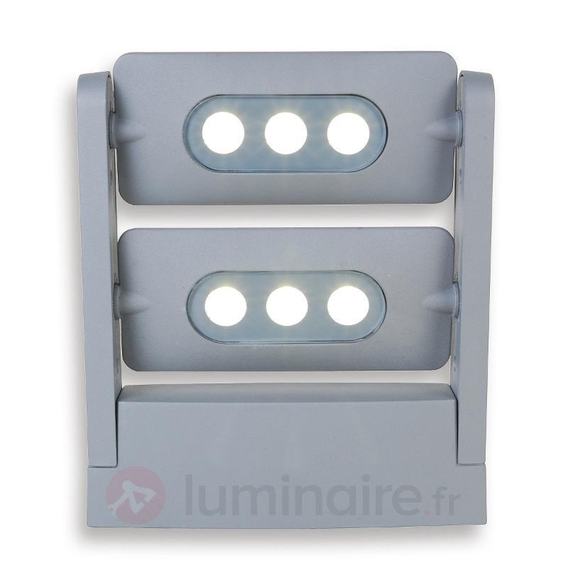 Projecteurs d'extérieur LEDs KEIRAN DUO, 6 LED - Appliques d'extérieur LED