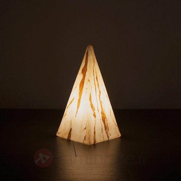 Pyramide Sahara avec câble en caoutchouc - Lampes décoratives d'extérieur