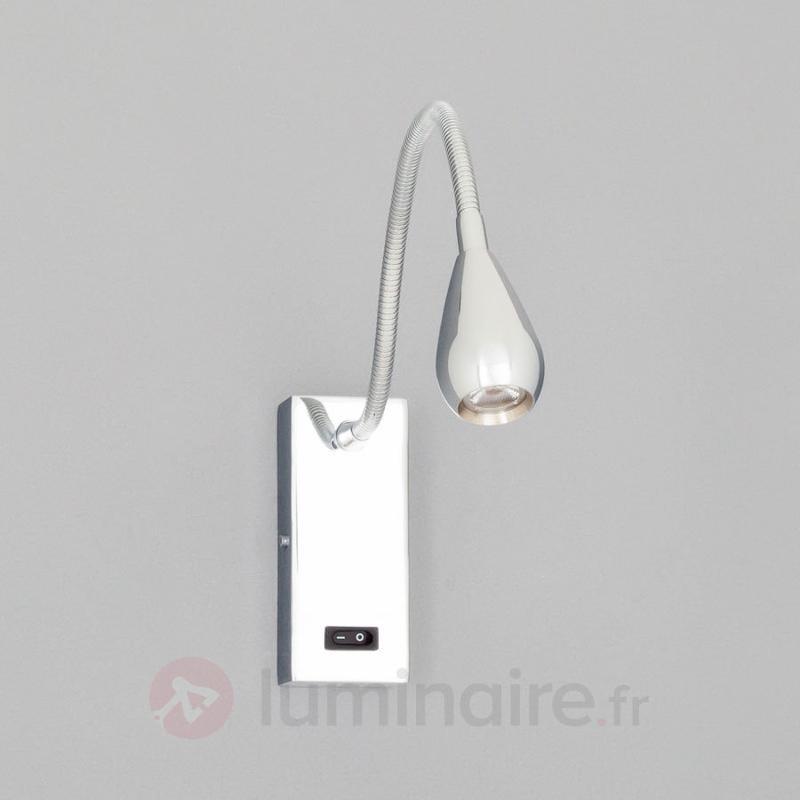 Applique LED Rasmus chromée - Appliques LED