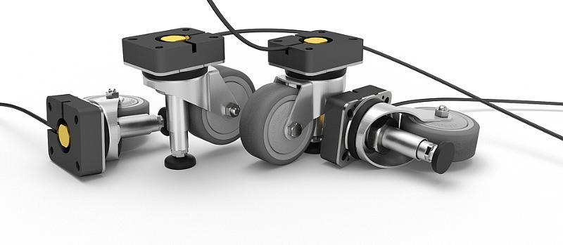 Hydraulic lifting systems - Lifting Castor HR