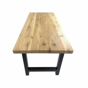 TABLE EN VIEUX BOIS Chene patina 1 - PLATEAUX ET TABLES EN VIEUX CHENE Patina 1