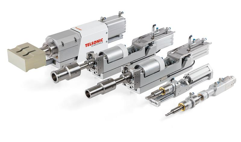 Welding actuators AC350, AC450, AC750, AC1200 and AC1900 - The ultrasonic power systems for flexible use in special-purpose applications