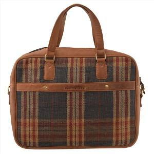 Jute Fabric Men Women Office Bag  - Office Bag