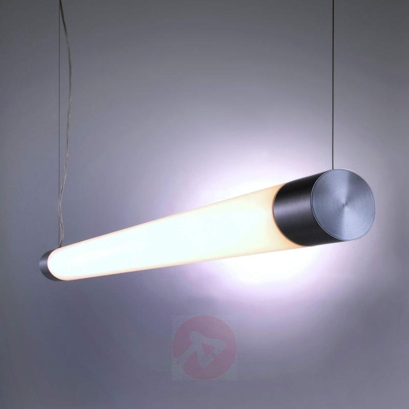 Pipe-shaped AGRYL LED pendant light - design-hotel-lighting