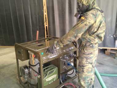 ATILA  - Decontamination Equipment Multitasking