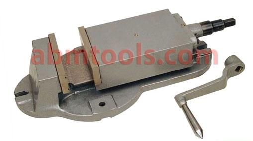 Milling Machine Vice - Fixed Base-J & S Type-England Type - The vice can be centered using longitude tenon slots.